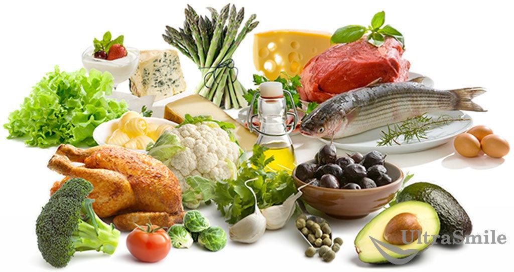 Полноценное и разнообразное питание