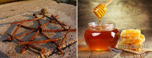 Ржавые гвозди и мёд