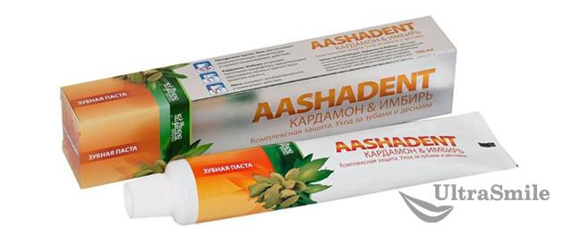 Aashadent с имбирем и кардамоном