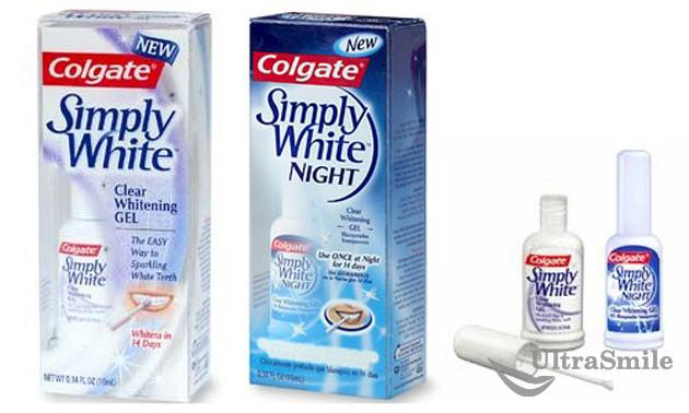 Colgate simply white гель для зубов