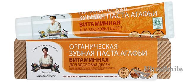 Зубная паста бабушки Агафьи