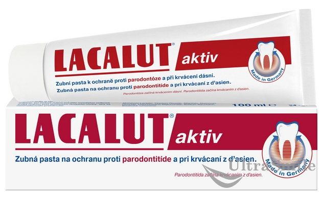 Зубная паста «Lacalut Activ»