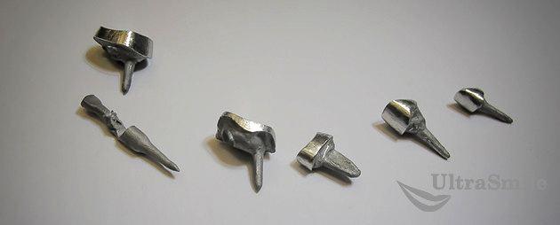 Культевая вкладка из никель-хрома