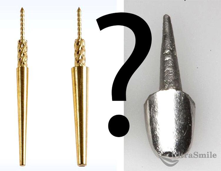 Культевая вкладка или штифт: что лучше для восстановления зубов?