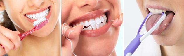 Только соблюдение всех правил чистки полости рта даст свой эффект