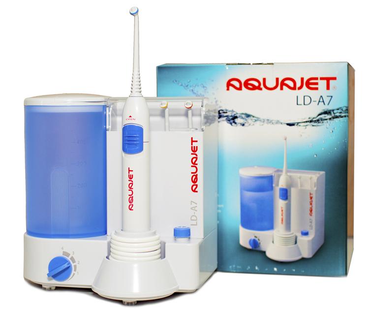 5 показаний для применения ирригатора Aquajet LD-A7
