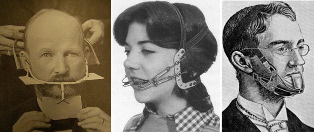На фото показаны первые корректирующие устройства