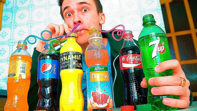 Газированные напитки могут повредить эмаль
