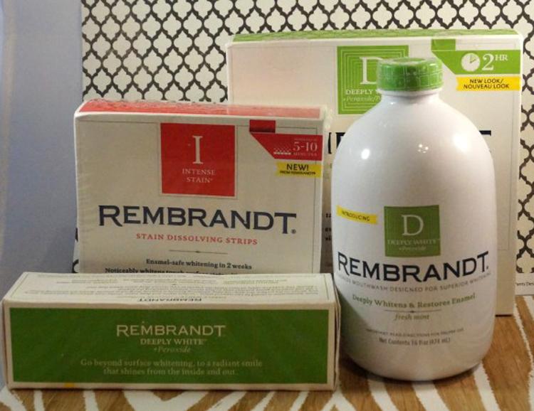 6 средств марки REMBRANDT для белоснежной улыбки