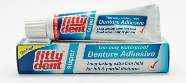 Суперадгезивный клей Fittydent Super Denture Adhesive