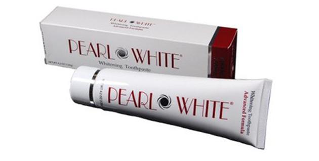 Отбеливающая зубная паста Pearl White Advanced Formula whitening toothpaste