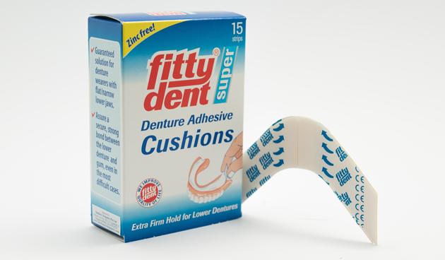 Прокладки Fittydent Super Denture Adhesive Cushions